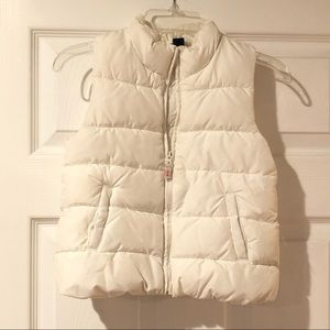 Toddler girls size 5 Baby Gap puffer vest